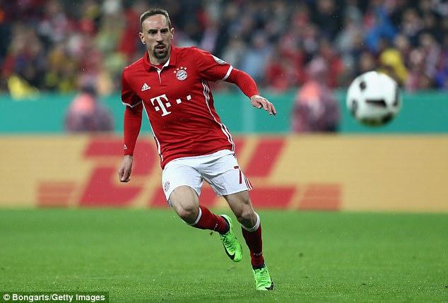 Kết quả hình ảnh cho Franck Ribery