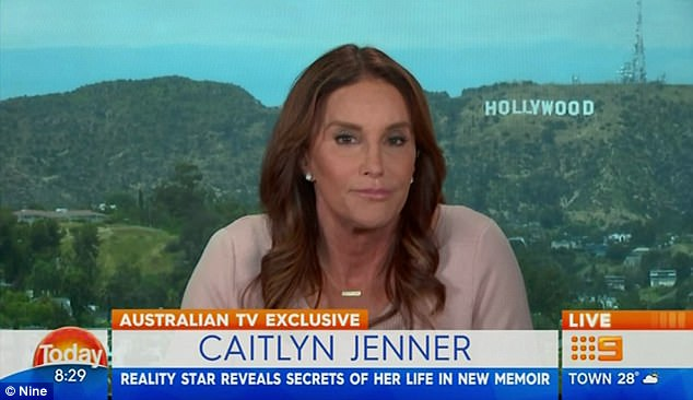 'I love Kim': Caitlyn Jenner reveals she hasn't spoken to Kardashian-West in 'a long time' and has decided to 'keep my distance' until hype over biography on Kris Jenner marriage dies down