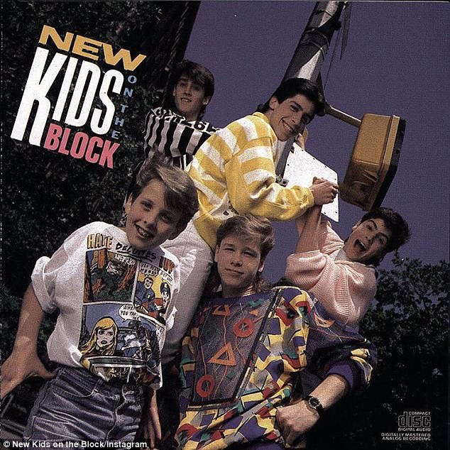 Almost babies! NKOTB's first album was released way back in April, 1986