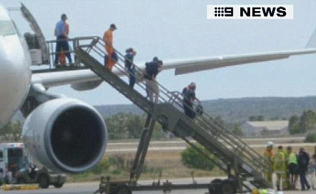 At least 20 passengers and crew aboard the flight were seriously injured - some with spinal injuries and others with broken bones and lacerations