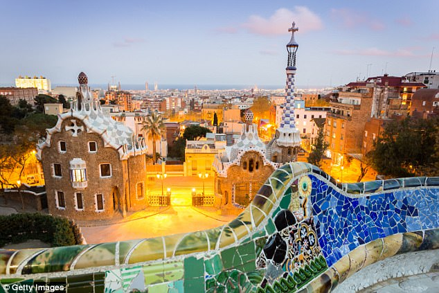 He describes Barcelona (pictured) fondly as being 'youthful, self-confident and socially liberal'