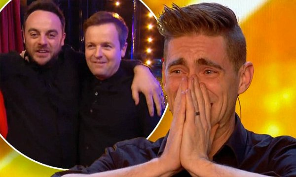Ant and Dec press Golden Buzzer on Britain's Got Talent ...