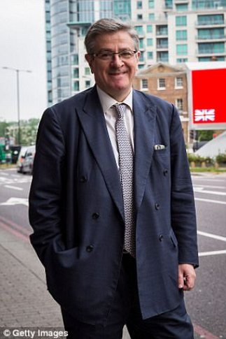 City asset manager Jeremy Hosking, who is also co-owner of Crystal Palace FC, said he wanted to ensure Theresa May was backed by an 'army' of pro-Brexit MPs