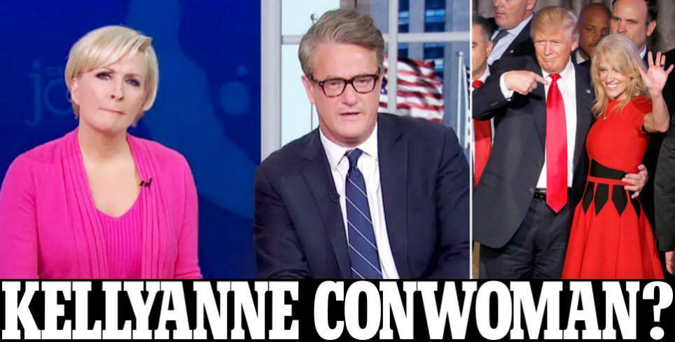Mika Brzezinski says Kellyanne Conway hates Donald Trump