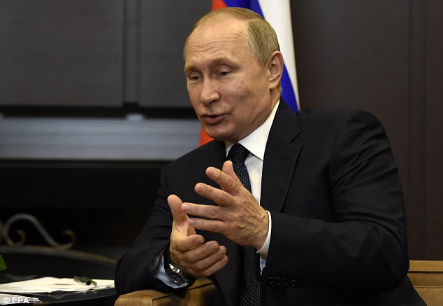 Putin said on Wednesday that  Trump had not passed any secrets onto Russian Foreign Minister Sergei Lavrov during a meeting in Washington last week and that he could prove it