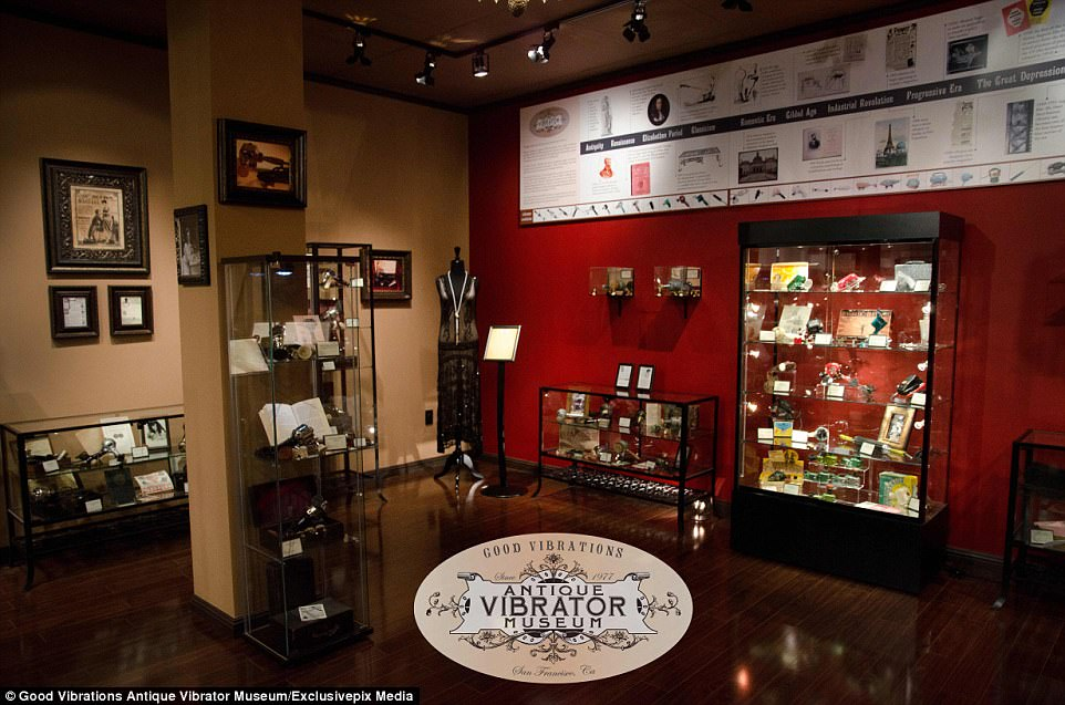 Visitors to the museum can go on a tour lead by staff sexologist Dr. Carol Queen. It covers 'the invention and functions of early vibrators, and displays our beautiful vintage exhibits'