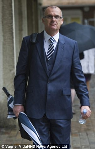 Ex-Thames Valley Police Head of Corporate Support Nick Harverson (pictured)