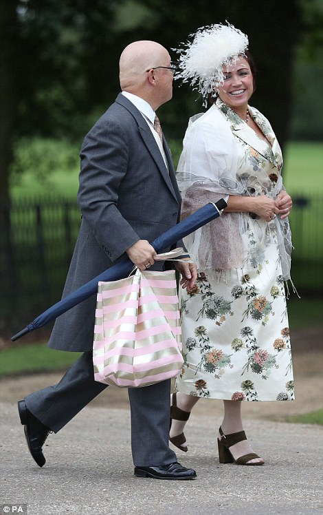 Here they come!The first guests arrived ahead of the wedding of the Duchess of Cambridge's sister Pippa Middleton to her millionaire groom James Matthews, dubbed the society wedding of the year at, St Mark's church in Englefield