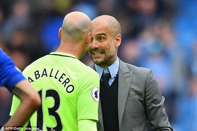 Guardiola has targeted the big Dane as his No 1 keeper priority due to his skills with the ball