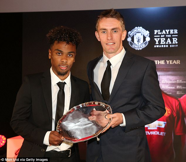 Exciting attacking midfielder Angel Gomes, 16, will be hoping to make his senior debut