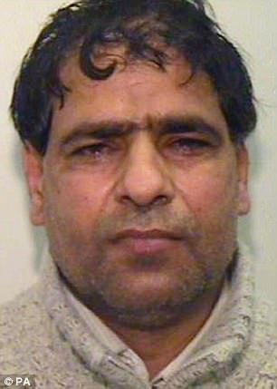 Abdul Aziz, 46, pictured, has been released on licence after serving half of his nine-year sentence