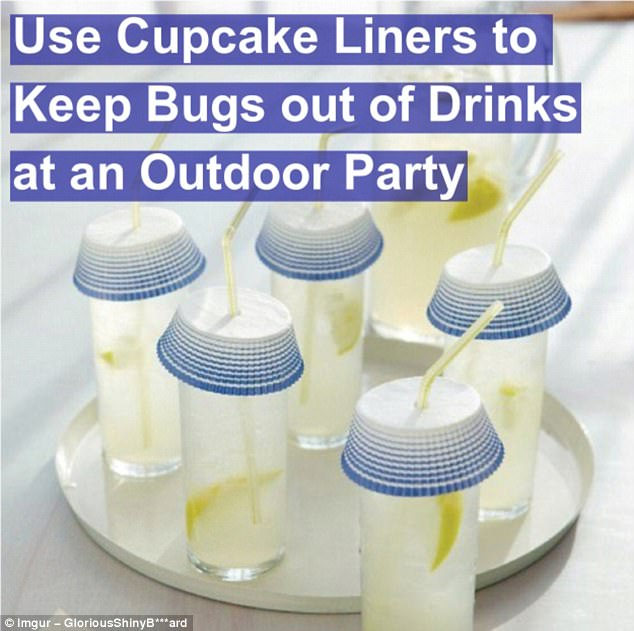Paper hats: No-one likes creepy crawlies swimming around in their drink, and now you'll never have to endure one again