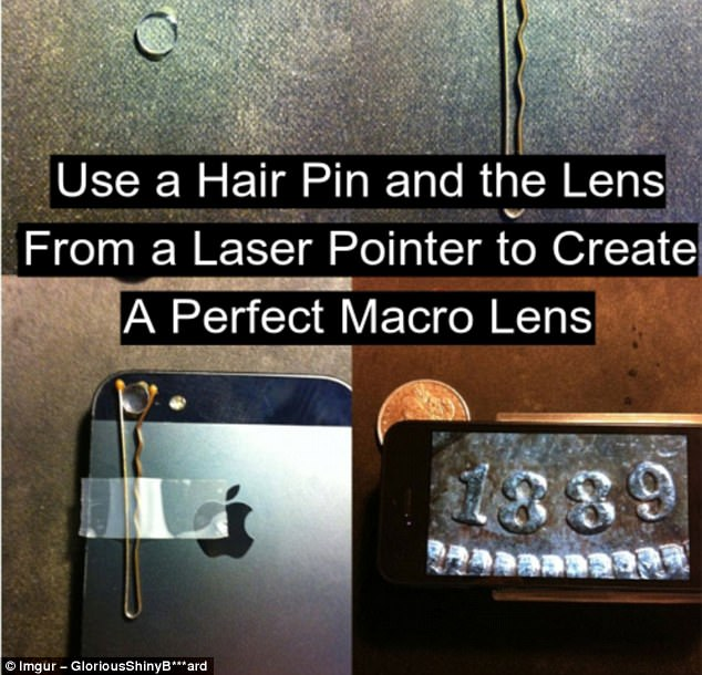 Photo pro: A quite remarkable hack that will turn an ordinary camera lens into a macro one