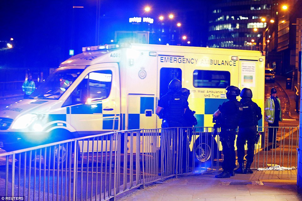 The ambulance service warned people only to call 'for life-threatening emergencies' and said a 'large number of resources' were at the incident