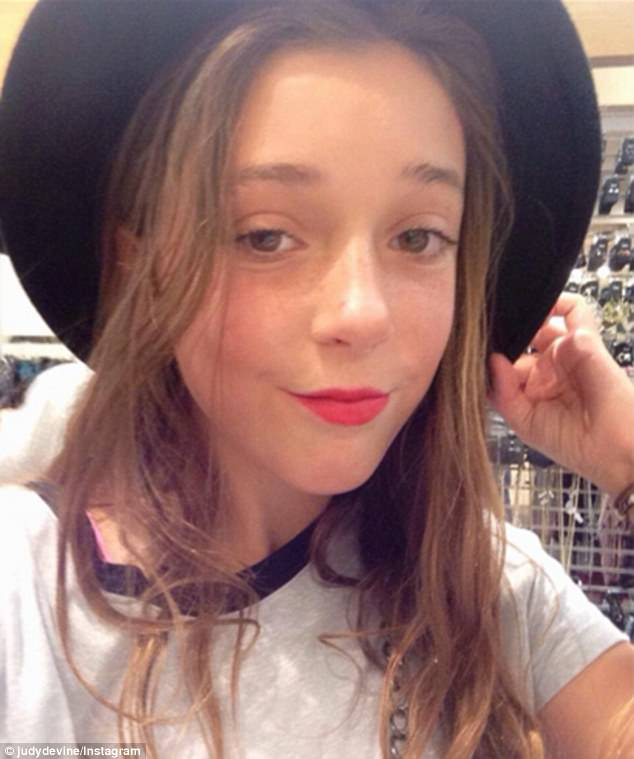 Gemma Devine (pictured) was at the centre of a collage of 'missing children' circulated online by trolls in the wake of the Manchester Attack, despite being safe at her school in Australia