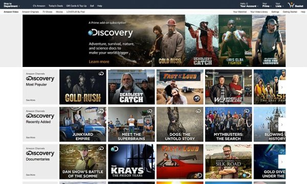 Amazon launches 40 live streaming TV channels on Prime ...