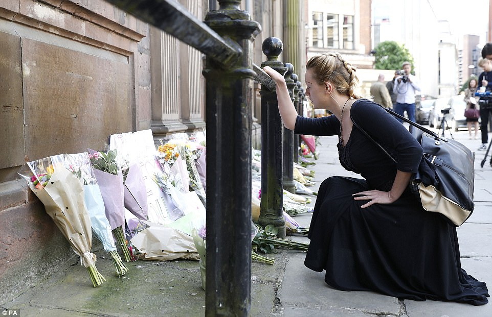 The horrific attack - the worst terror atrocity since London's 7/7 bombing - has left Manchester in shock