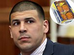 Aaron Hernandez (in court in 2013) once devoured with twenty Honey Buns during one desperate night in jail, records show