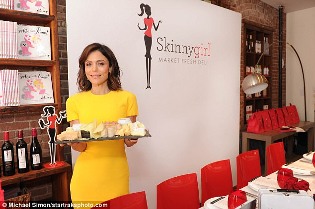 Her empire: Skinnygirl has a line of hard alcohol, wine and candy; she has also written several books