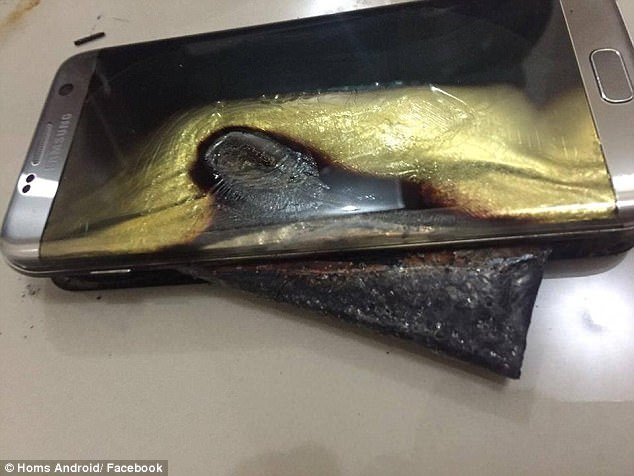 Samsung has been hit with multiple lawsuits following reports that other smartphone models are plagued with similar battery issues ¿ including the Galaxy S6, S7 Edge (pictured)