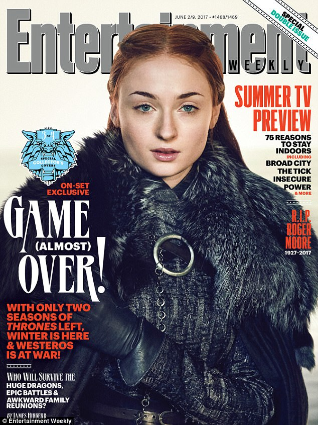 Lady of the manor: At the end of season six, Sansa (Sophie Turner) and Jon have already joined forces to defeat Ramsay Bolton and retake their ancestral castle