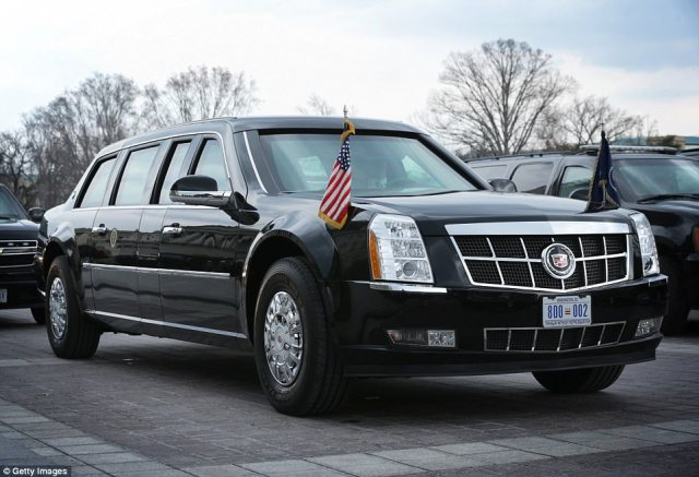 The Beast, commissioned in 2009 to carry the U.S. president, is deemed the world's classiest tank, with eight-inch-thick doors and a fuel tank coated with armour plating
