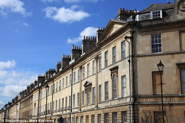 It's located bang in the middle of Great Pulteney Street (pictured), arguably Bath's grandest terrace