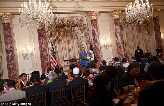 Image result for photos of past ramadan affairs at US STATE DEPARTMENT