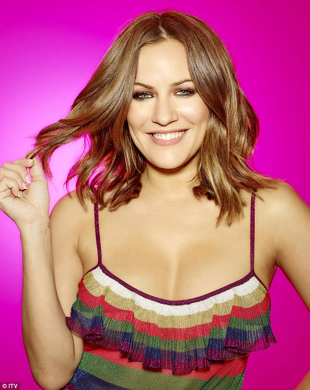 Caroline Flack, the show's host
