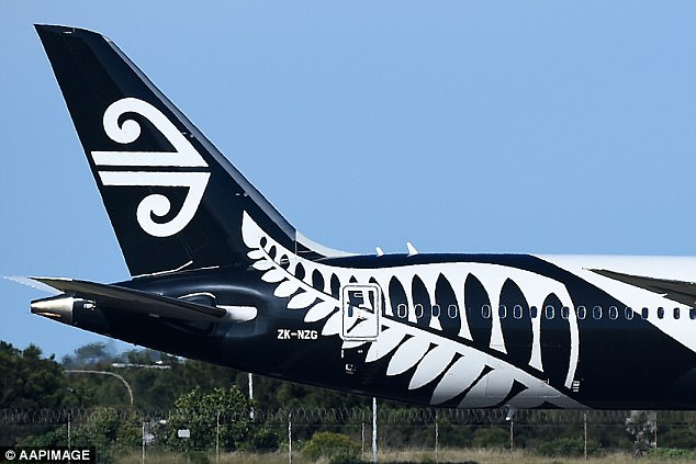 Other passengers aboard flight NZ559 alleged that Marsh was seen on the floor of the airport before boarding the aircraft