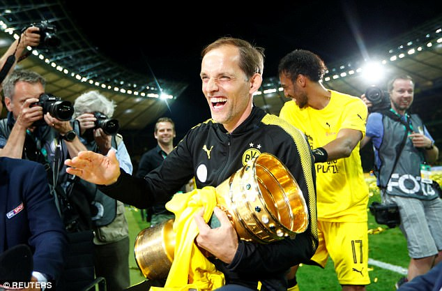 Tuchel won the German Cup on Saturday thanks to a victory over Eintracht Frankfurt