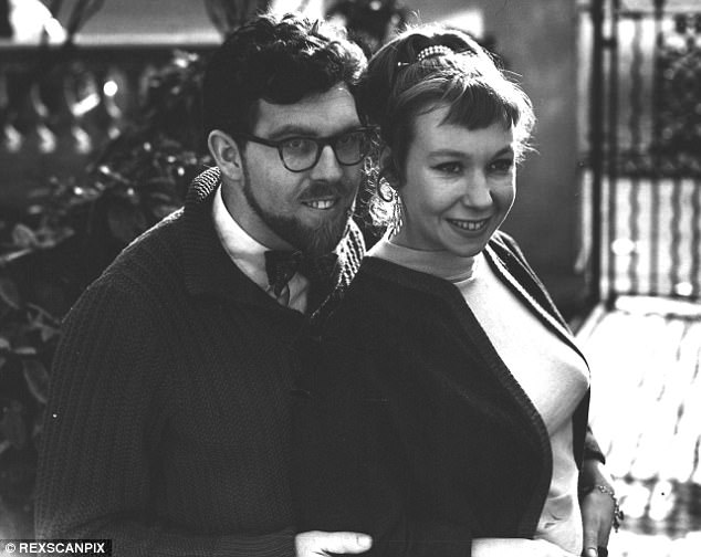 Harris and his wife Alwen, pictured in 1958. His defence barrister said: 'She isn't getting better obviously, it isn't as if she had a case that is going to resolve itself. She is getting worse'