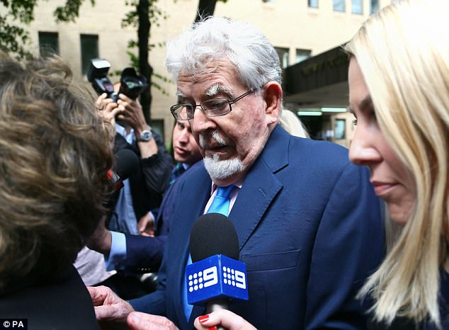 Harris left court today without making any comment to reporters before getting into a car