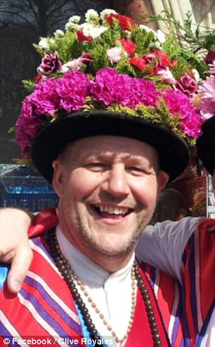 The married Morris dancer called himself 'Mr Floppy',