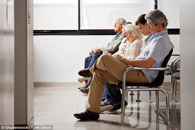 A Waiting game: Hospital appointments are often last minute and frequently run late