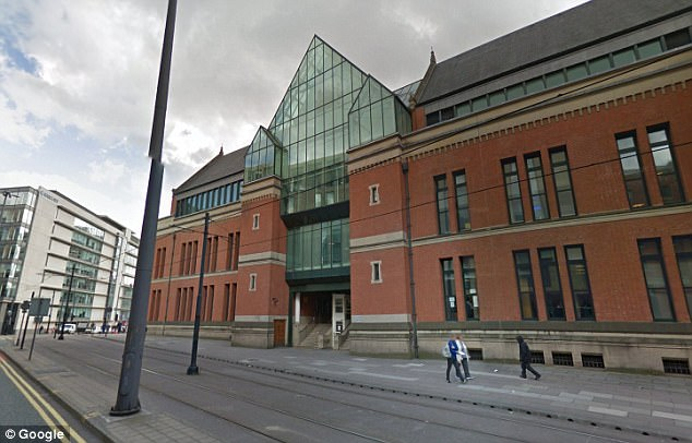Royales was jailed at Minshull Street Crown Court (pictured) in Manchester after being found guilty of indecent assault following two retrials