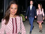 Pippa Middleton (right) and James Matthews (left) have been pictured enjoying a late night dinner