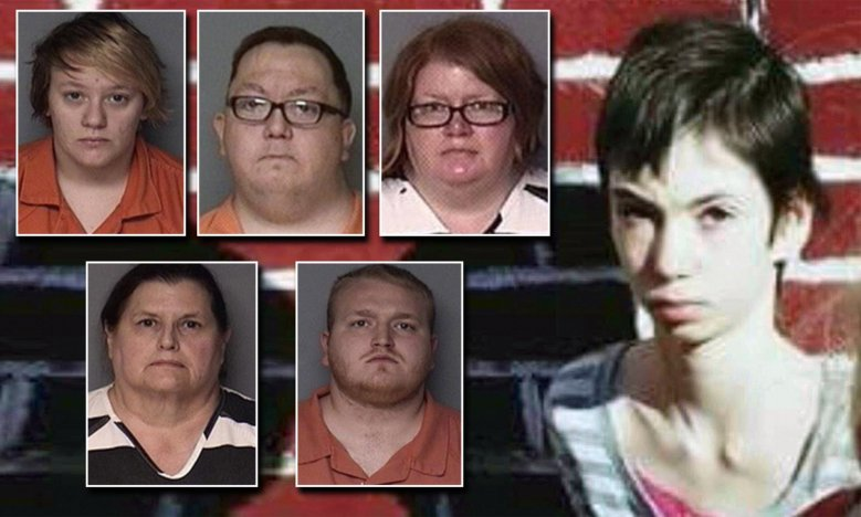 Five charged in starvation death of 16-year-old Iowa girl | Daily Mail  Online