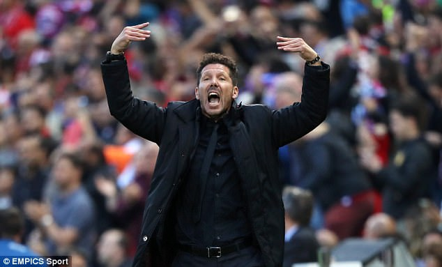 Diego Simeone has done a superb job since being appointed Atletico Madrid manager
