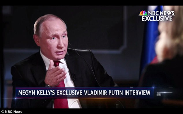 Russian President Vladimir Putin (above) suggested on Friday that the hacking of Hillary Clinton's campaign during the election may have been a CIA-engineered false flag operation designed to implicate his country