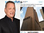 Tom Hanks, who regularly posts cryptic images of random objects left on the streets of Manhattan - typically accompanied by witty captions - decided to post a picture of a mystery, almost windowless skyscraper which is freaking out his fans