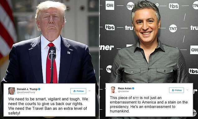 CNN host Reza Aslan calls President Trump 'piece of s**t'