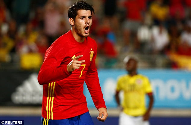 Image result for morata spain