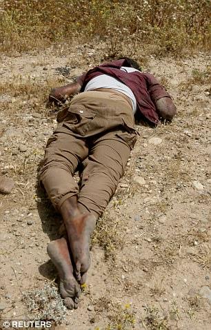 Human Rights Watch dice que los hombres fueron probablemente asesinados por las fuerzas afiliadas al régimen iraquí