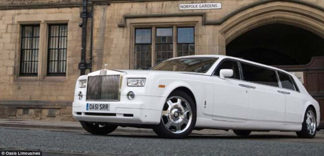 Much sought-after by stars and celebrities, the Rolls Royce Phantom limousine is a staple on the events scene