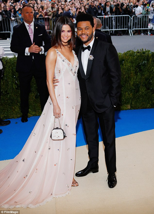 Beautiful couple: The 24-year-old and her beau, 27, at the Met Gala in New York on May 2
