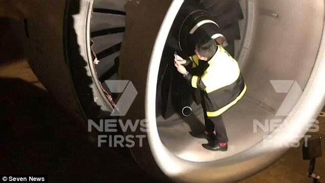 Los pasajeros dijeron que el vuelo ha dicho que escucharon una fuerte explosión o explosión después del despegue