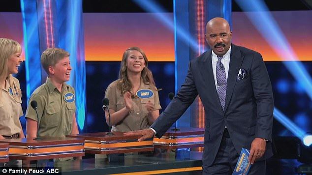 Image result for family feud with irwin family
