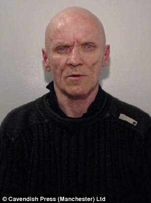 Andrew Timblin, 60, pictured, was convicted of raping a 14-year-old girl with whom he had been left alone by her 'drug-addict' mother