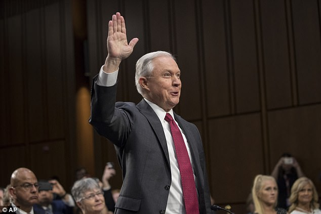 'In retrospect in looking at it I think it was more egregious than I may have even understood at the time,' attorney general Jeff Sessions said of fired FBI Director James Comey's handling of the Hillary Clinton email scandal